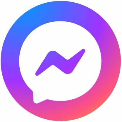 Messenger circle social media icon