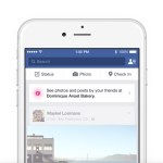 facebook place tips suggerimenti in base al luogo