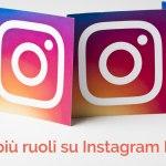 gestire ruoli pagina instagram