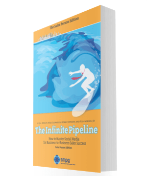 The Infinite Pipeline demonstrates that social selling is real, it's here, and sales people can learn social sales techniques to improve their effectiveness.