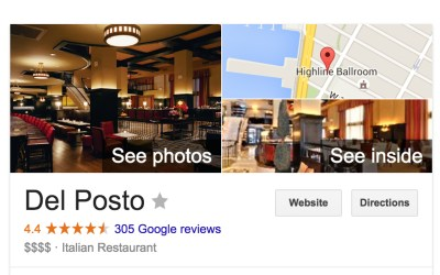 Google 360° Virtual Tours – Why Your Restaurant Needs One