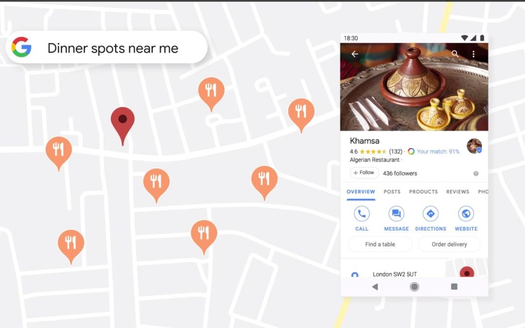 New Google Business App