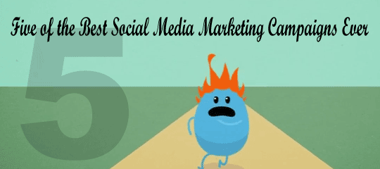 Five of the Best Social Media Marketing Campaigns Ever - Social Media Revolver