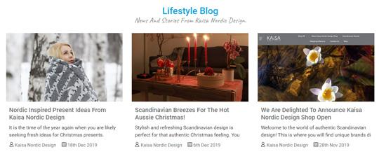 Kaisa Nordic Design Blog