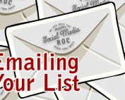 Emailing Your List