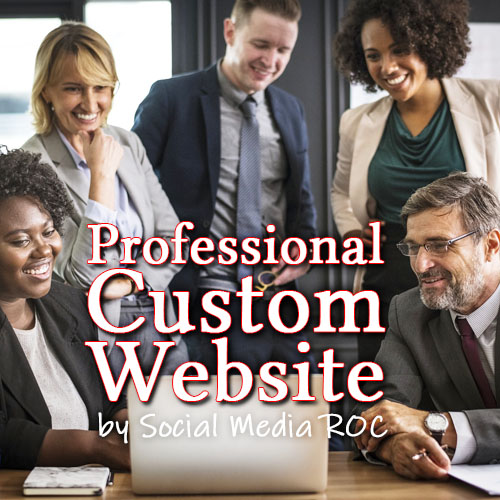 Professional custom designed business website