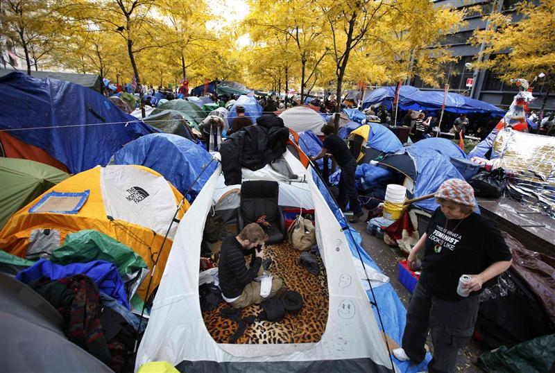 Powerful Occupy Wall Street Pictures Whether You Like It