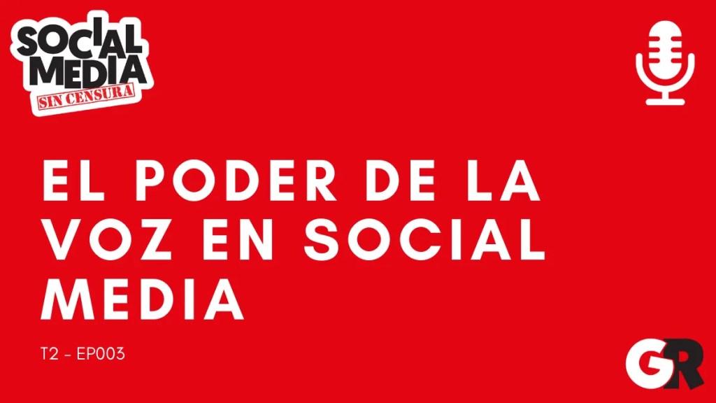 la voz en el social media - social media sin censura