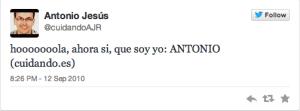 Antonio Jesus 1 tweet
