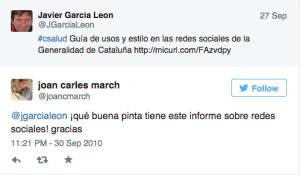 1 tweet Joan C March
