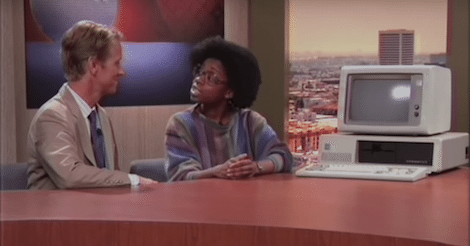 """Computer Show"" Is A Tech Talk Show Set in 1983, Interviewing Leaders of 2015"