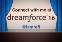 Connect with me at Dreamforce