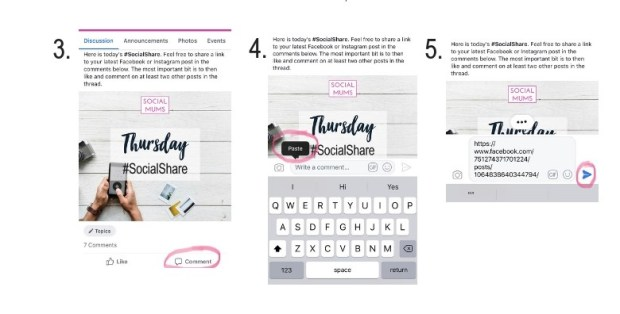 How to join in the daily #SocialShare2