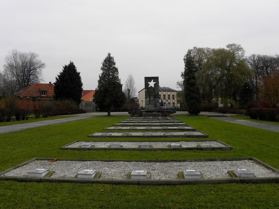Military Cemetery in Zary, Poland