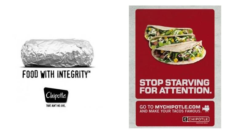 Old vs. New Marketing Designs of Chipotle