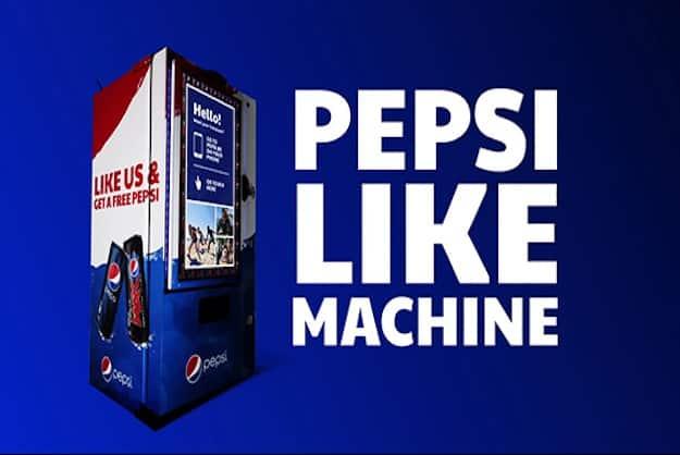 Pepsi Like Machine - courtesy of socialnewsdaily.com