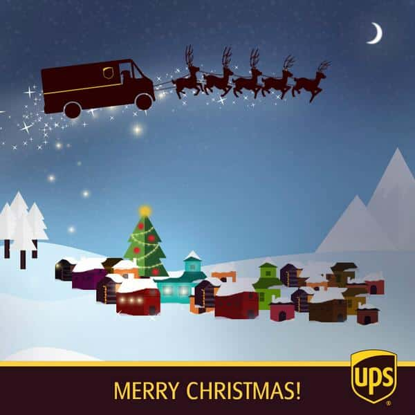 UPS Ruined Your Christmas Twitter Reacts