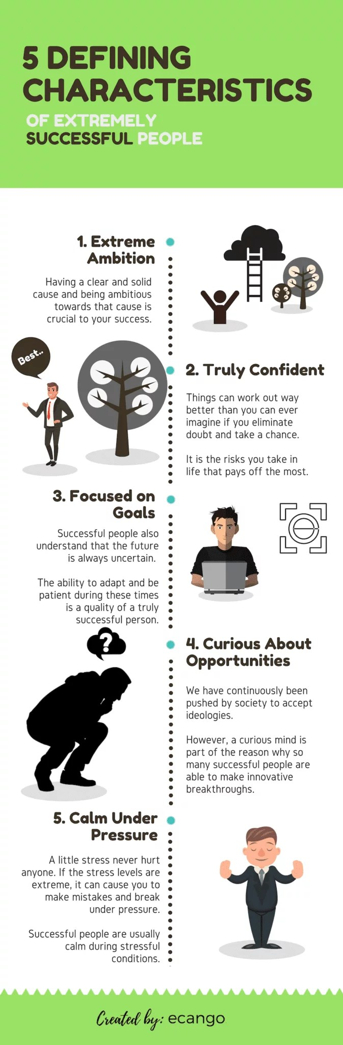 5 defining characteristics of extremely successful people