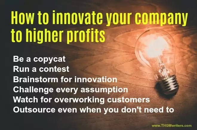 How to boost profits through innovation