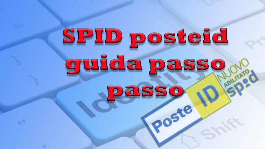 SPID posteID guida passo passo