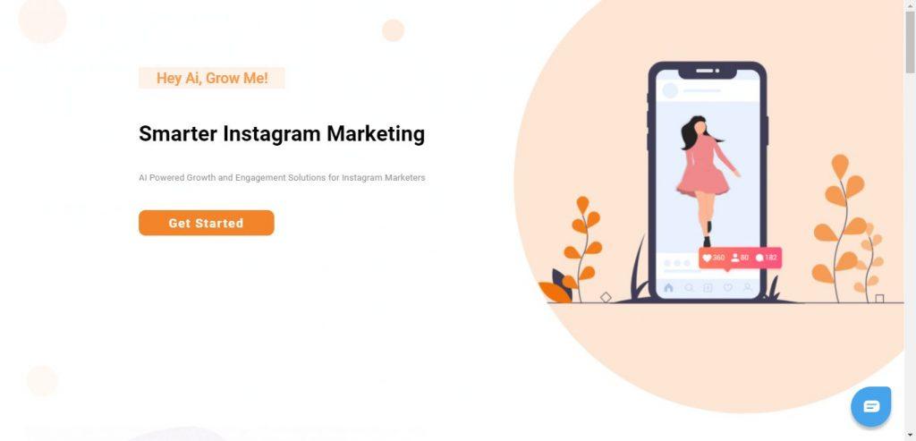 Obtenez des abonnés Instagram avec AiGrow