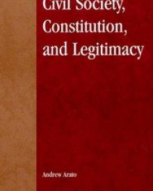 Andrew Arato (2000) — Civil Society, Constitution, and Legitimacy