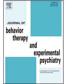 "Journal of Behavior Therapy and Experimental Psychiatry (2018) — Adam Brown, ""Can an Experimental Self-Efficacy Induction through Autobiographical Recall Modulate Analogue Posttraumatic Intrusions?"""