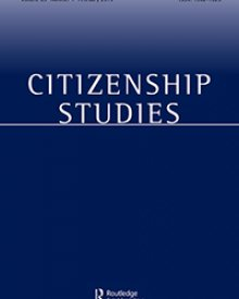 "Citizenship Studies (2017) — Anne McNevin, ""Learning to Live with Irregular Migration: Towards a More Ambitious Debate on the Politics of 'the Problem'"""