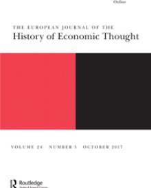 "European Journal of the History of Economic Thought (2017) — Clara Mattei, ""Austerity and Repressive Politics: Italian Economists in the Early Years of the Fascist Government 1922-1925"""