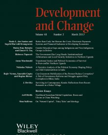 "Development and Change (2017) — Paulo dos Santos,  ""Better than Cash, but Beware the Costs: Electronic Payment Systems and Financial Inclusion in Developing Economies"""
