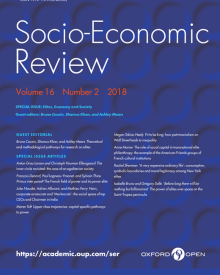 "Socio-Economic Review (2018) — Rachel Sherman, ""'A Very Expensive Ordinary Life': Consumption, Symbolic Boundaries, and Moral Legitimacy among New York Elites"""