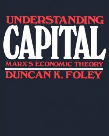 Duncan Foley (1986) — Understanding Capital: Marx's Economic Theory