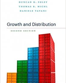 Duncan Foley (2019) – Growth and Distribution, second edition