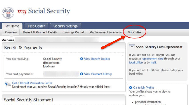 """""""how to change your address with Social Security 6"""""""