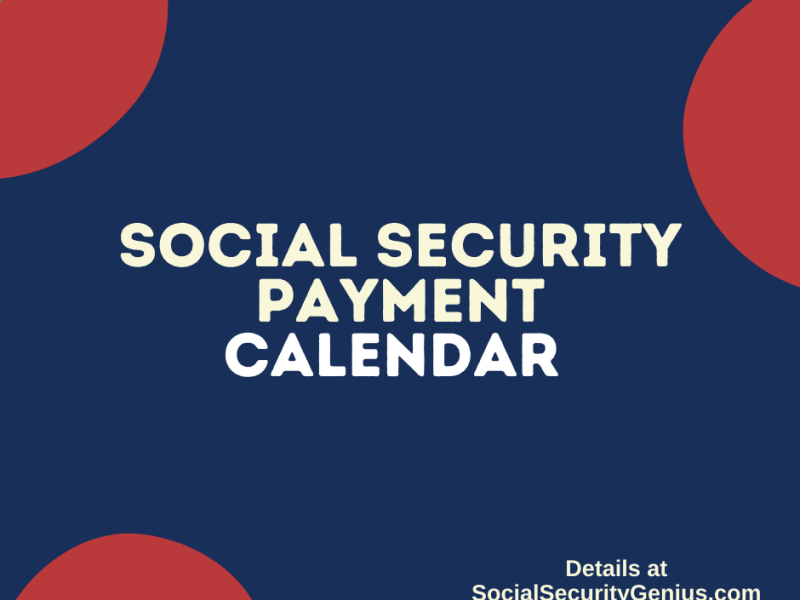"""Social Security Payment Calendar"""