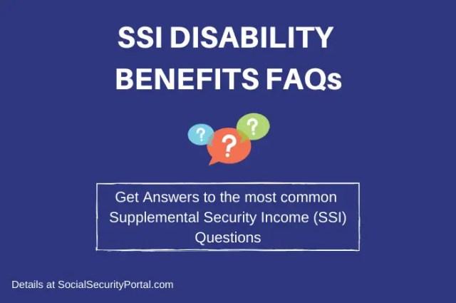 """""""SSI FAQs"""""""