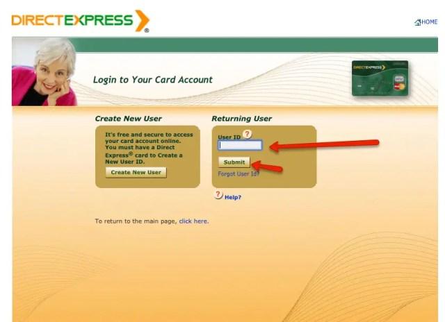 """Direct Express Card Login Guide 1"""