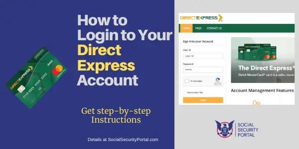 """Direct Express Card Login"""