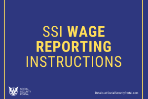 """SSI Wage reporting instructions"""