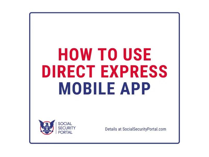 """Get Direct Express Mobile App"""