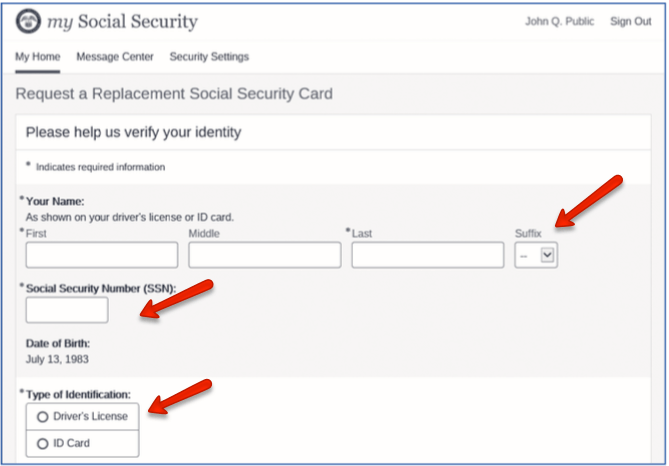 """""""Get a Replacement Social Security Card 2"""""""