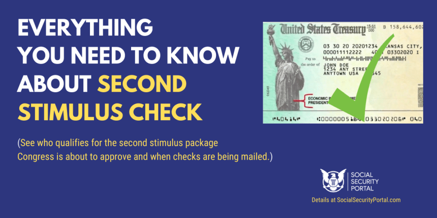 """Second Stimulus Check FAQs"""