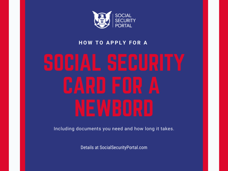 """Social Security Card for Newborn"""