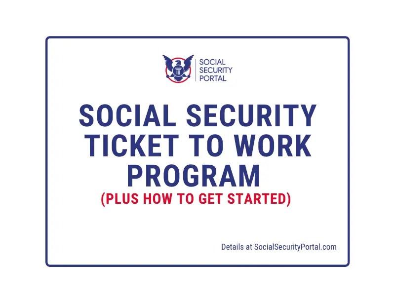 """Social Security Ticket to Work Program"""