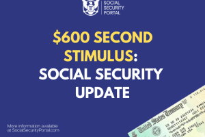 """""""Will Social Security Recipients get second stimulus for $600"""""""