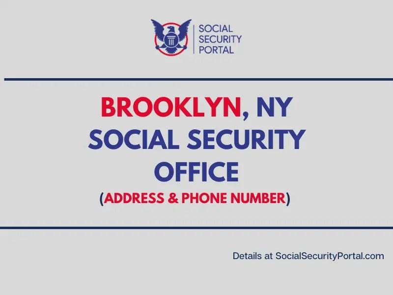 """""""Brooklyn NY Social Security Office"""""""