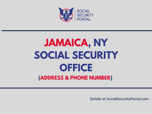 """Jamaica NY Social Security Office"""