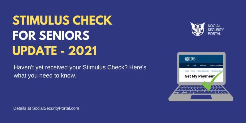 """When will Seniors get Stimulus Check"""