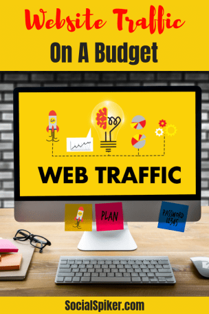 yellow backgroud web traffic