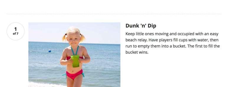 7 Fun Beach Games for the Step Kids!